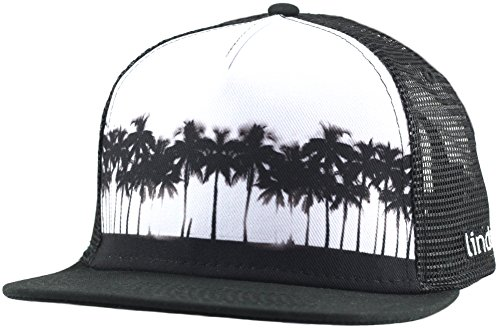 Cool Trucker Hat - Row of Palms by Lindo (one size) (Cool Trucker Hat compare prices)