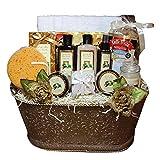 Essence of Luxury Warm Vanilla Spa Bath & Body Gift Basket Set