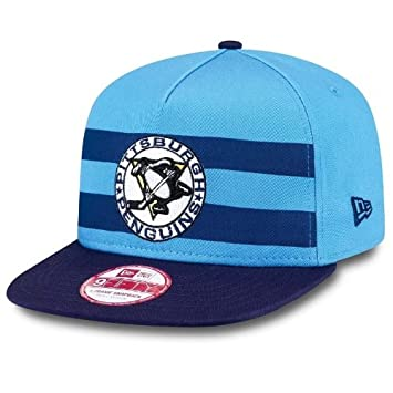 the best attitude e0129 a75dc New Era Pittsburgh Penguins Double Stripe Snapback NHL Cap  Amazon.co.uk   Sports   Outdoors