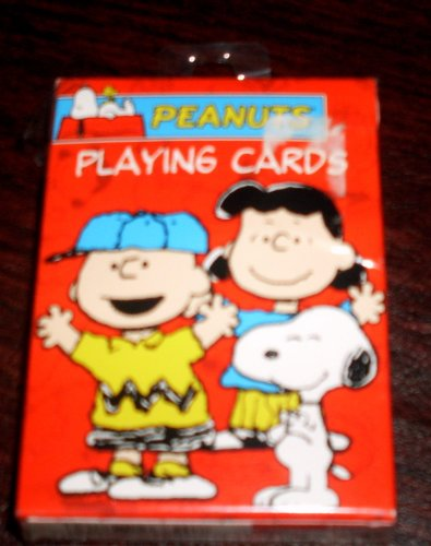 Rare Peanuts Gang Deck Playing Cards - Snoopy  Charlie Brown  Etc.