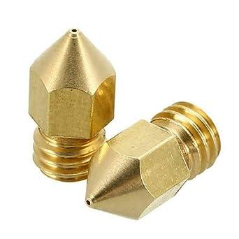 Amaping - Boquillas para impresora 3D MK8 de latón, boquilla ...