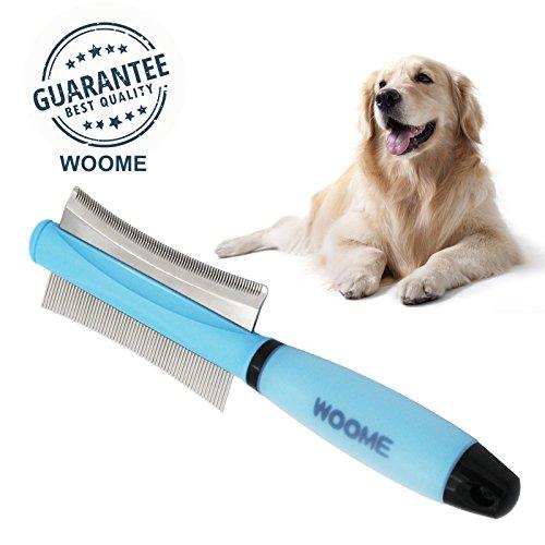 Octchoco Pet Comb Extra Large Rake Comb Grooming Brush Deshedding