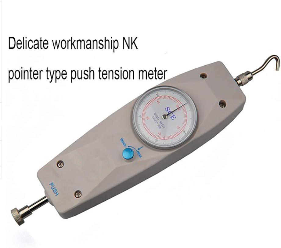 kilogramo y Newton Dos Unidades,0.05N-10N 1KG LSSLSS Medidor de Empuje Medidor de presi/ón Dinam/ómetro Indicador de precisi/ón de precisi/ón M/áquina de Prueba de tracci/ón Dispositivo port/átil