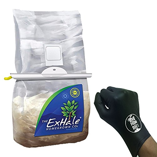ExHale Homegrown CO2 with Hanger and THCiTY Gloves (Natural Plant Co2)