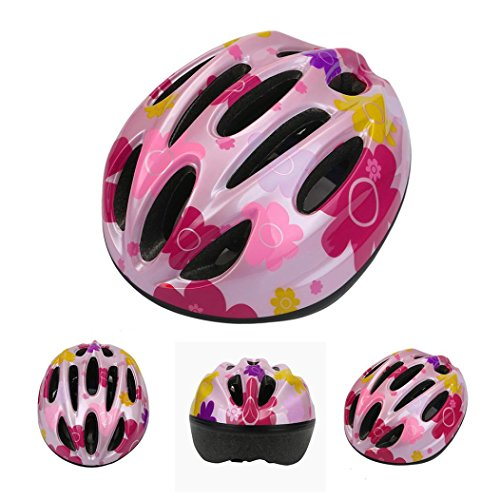 Price comparison product image FEITONG 10 Vent Child Sports Mountain Road Bicycle Bike Cycling safety Helmet Skating cap (Pink)