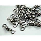 200X Lot #7 20mm 26kg Barrel Swivels Fishing Swivel Tackle