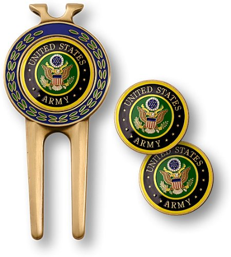 Army Divot Tool Ball Markers