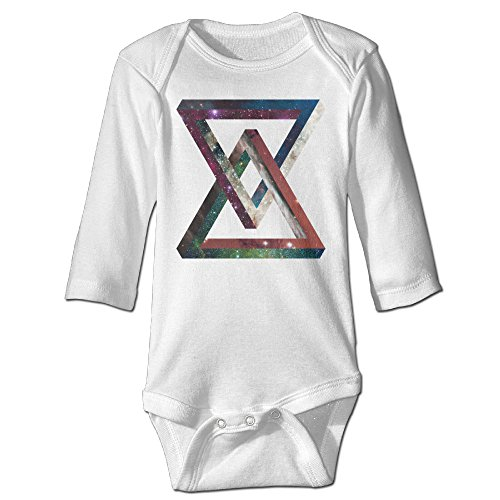 Funny Vintage Unisex Outer Space Triangle Romper Toto (Outer Space Hamper compare prices)