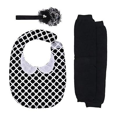 Baby Gift Set - Black Headband and Leggings