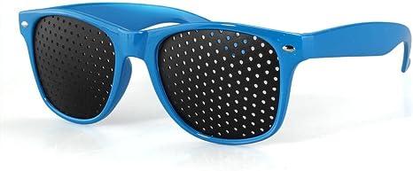 Anteojos Gafas Reticulares con Agujeros para Mejorar Vista Visual Ojo Lectura: Amazon.es: Deportes y aire libre