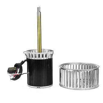 Motor de ventilador, 220V 120W 2800r/min Caja de secado de motor ...