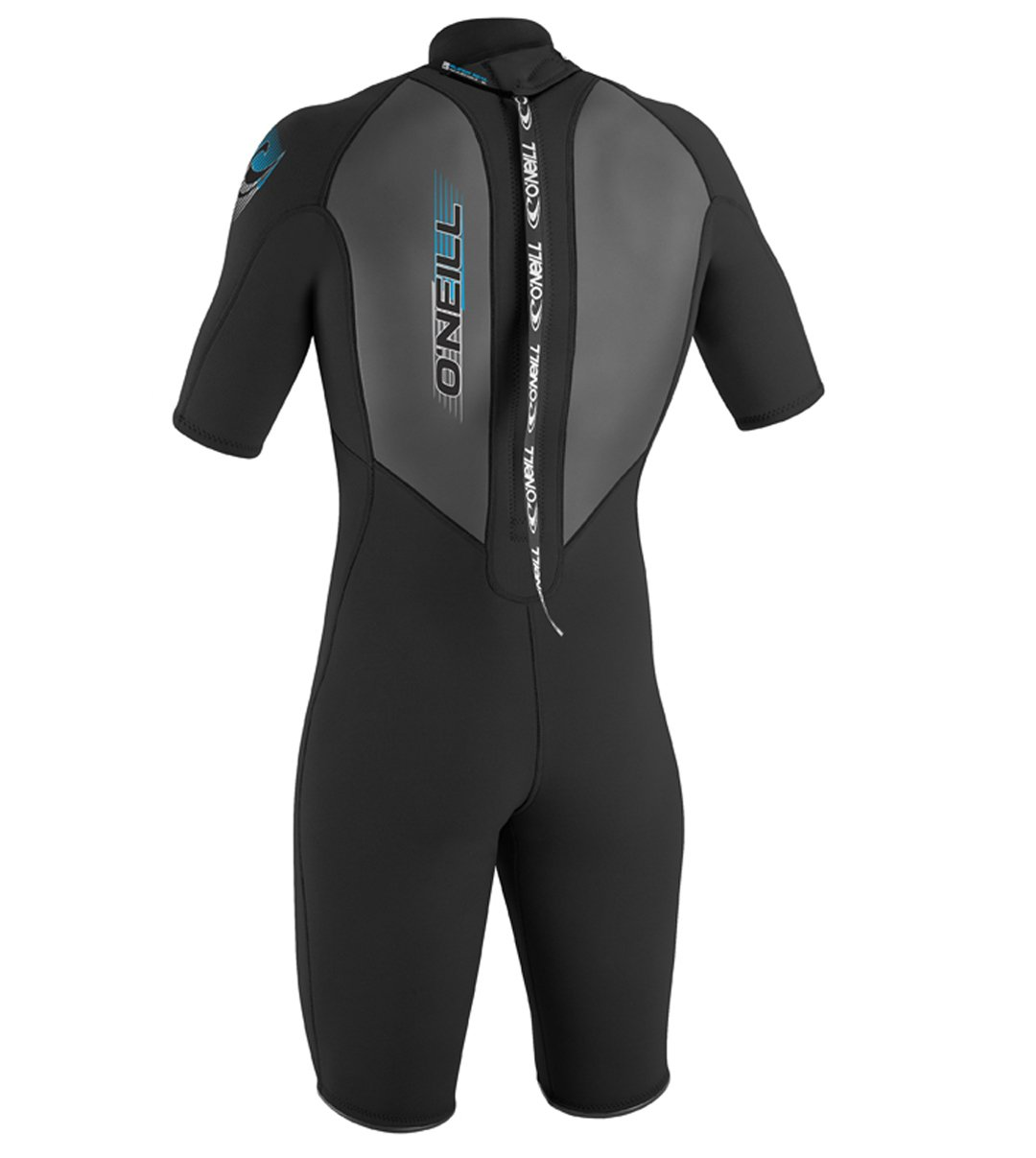 O'Neill Men's Reactor 2mm Back Zip Spring Wetsuit, Black, XX-Large by O'Neill Wetsuits (Image #2)
