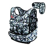 Swift360 Weighted Vest for Men 40lbs Adjustable Female Fitness Gear Cross-fit Training Exercise Camouflage (with Shoulder Pads)