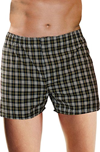 Hanes Men's Woven Boxers with Comfort Waistband (3-Pack), Assorted, (Hanes Fitting)