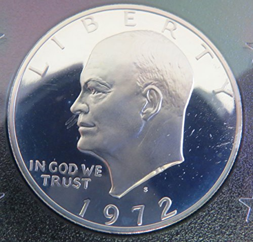 - 1972 S Eisenhower Proof Dollar Perfect Uncirculated