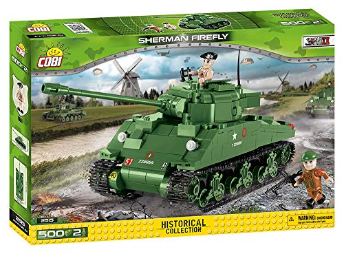 COBI Historical Collection Sherman Firefly Tank (Best British Tank Ww2)