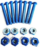 Everland 1.5' Skateboard Hardware Screws (Blue)