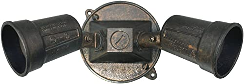 Sigma Electric, Oil Rubbed Bronze 16797ORB Round Floodlight Kit