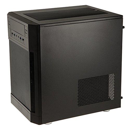 anidees AI7 Black Window Cubo Negro Carcasa de Ordenador - Caja de Ordenador (Cubo, PC, De plástico, Acero, ATX,Mini-ATX,Mini-ITX, Negro, ...