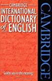 Cambridge International Dictionary of English, , 0521484219