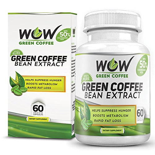 Buy Wow Green Coffee Weight Management Supplement With 800 Mg Gca