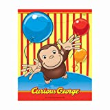Curious George Loot Bags, 8ct