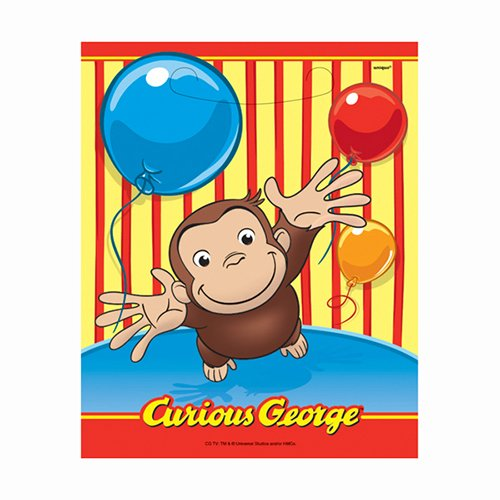 Curious George Goodie Bags, 8ct -