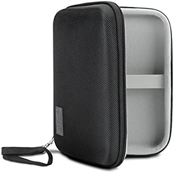 USA Gear Genteel Lancing Diabetic Case with Protective Hard Shell Exterior, Zipper and Detachable Wrist Strap - Travel Organizer Pocket Holds Insulin, Lancets, Needles and More Accessories