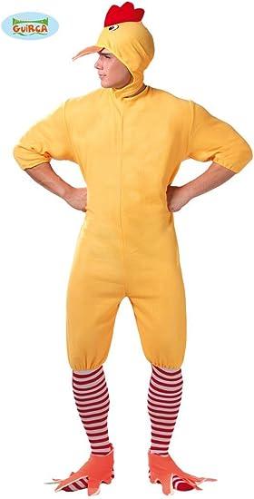 Disfraz de Pollito Amarillo para hombre: Amazon.es: Juguetes y juegos