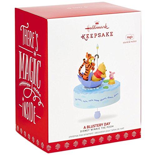 Hallmark Keepsake 2017 Winnie the Pooh A Blustery Day Musical Christmas Ornament With Motion by Hallmark (Image #2)