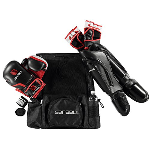 Sanabul Mesh Backpack (Black, (Black Standard Backpack)