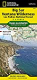 Big Sur, Ventana Wilderness [Los Padres National Forest] (National Geographic Trails Illustrated Map (814))