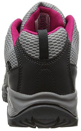Regatta Lady Holcombe, Zapatos de Senderismo Mujer Gris (Steel/vivaci)
