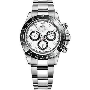 Best Epic Trends 51vPjpvlxWL._SS300_ Rolex Cosmograph Daytona Luxury Men's Watch 116500LN-WHITE