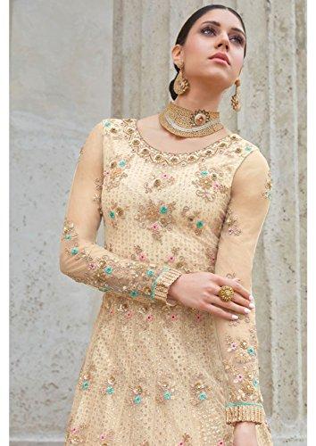 Touch da ragazza Bollywood Collezione Indiano lungo ETHNIC Kameez da Abito Abito Designer Anarkali Salwar 2823 pavimento EMPORIUM Abito donna Abito xw6AqaUS