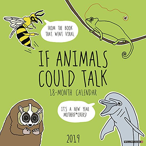 If Animals Could Talk 2019 Wall Calendar