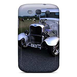 SherriFakhry Samsung Galaxy S3 Bumper Hard Phone Cases Provide Private Custom Realistic 32 Ford Truck Pictures [zmt14117KtJS]
