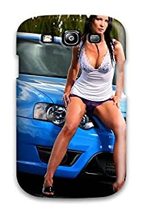 Fashion Tpu Case For Galaxy S3- Girls And Cars Defender Case Cover