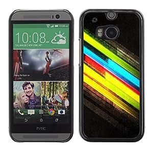 CaseLord Carcasa Funda Case - HTC One M8 / Cool Colors /