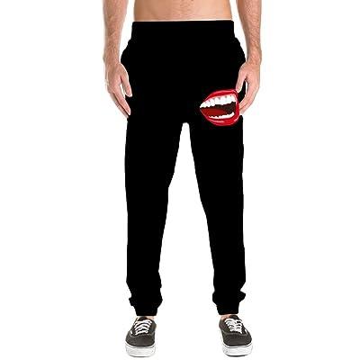 YYG Mens Casual Solid Color Jogger Pants Baggy Elastic Waist Harem Pants