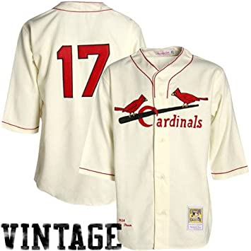 big sale 5ce14 ca8fe St. Louis Cardinals Authentic 1934 Dizzy Dean Home Jersey By ...