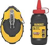 DEWALT DWHT47144 Chalk Reel and Kit, Red