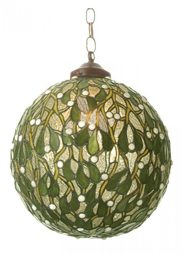 Mistletoe Ball Pendant (Meyda Tiffany 81735 Mistletoe Ball Pendant Light Fixture, 12