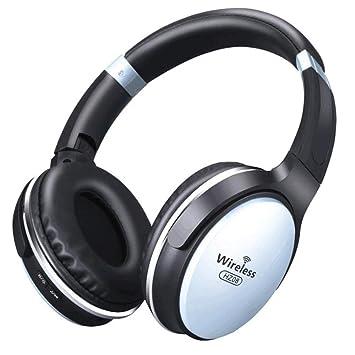 FXMINLHY Auriculares inalámbricos Bluetooth Tarjeta SD ...