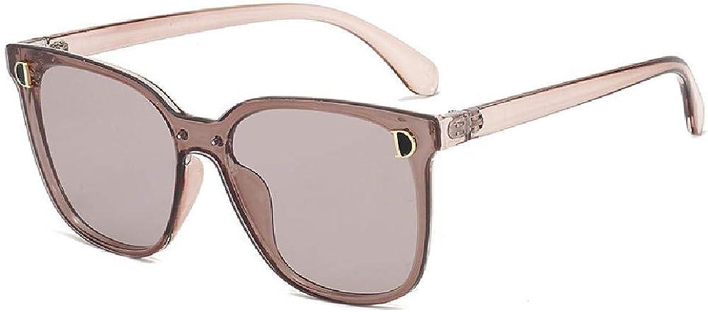 Gafas de sol de verano para mujer con lentes polarizadas Gafas protectoras UV 400 Montura cuadrada extragrande