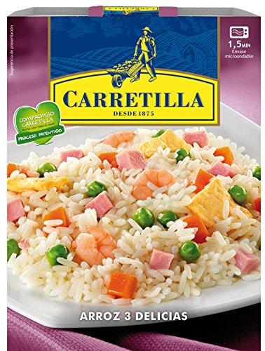 Arroz 3 delicias carretilla 250g