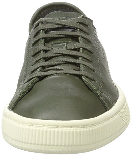 Soft Adulto Olive Unisex Classic Verde Puma Basket Zapatillas Night AqExRwBOUB
