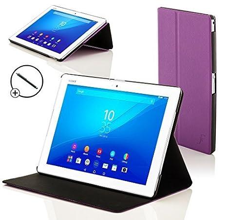 Forefront Cases® Sony Xperia Z4 10.1 Tablet Funda Carcasa Stand Smart Case Cover – Ultra Delgado y Protección Completa del Dispositivo con Función ...