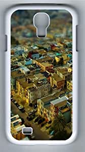 California San Francisco cityscapes Polycarbonate Hard Case Cover for Samsung Galaxy S4/Samsung Galaxy I9500 White by lolosakes