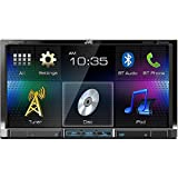 "JVC KW-V41BT 2 Din Bluetooth Car DVD Receiver 7"" Monitor w Android/iPhone Apps"